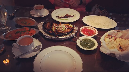 Amrit Palace Indian Restaurant: Great food. Excellent service. Courteous owner made a great recommendation for first time guest.
