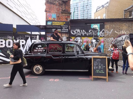 TBCCC Outdoors - Picture of The Black Cab Coffee Co, London