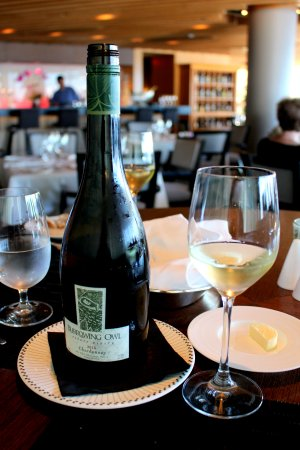 Five Sails Restaurant: Okanagan Valley Chardonnay.