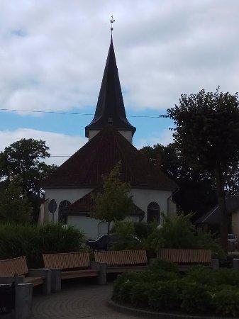 Tukums, Letonia: Лютеранское-евангелическая церковь в Тукумсе. Общий вид