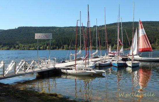 Schluchsee, Alemanha: Unser Steg
