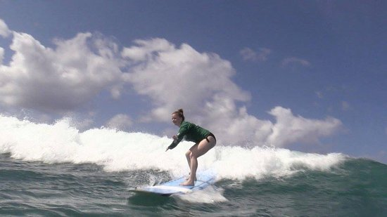 Surfing with Ty Gurney Surf School - photo credits: 83 East Productions