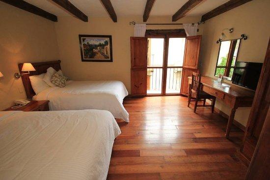 Hotel San Marcos: mi habitacion me encanto, con balconcito y muy limpia