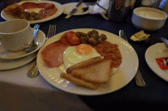 Evans Hotel: nice tasty breakfast