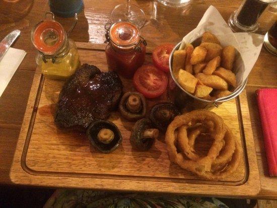 Boughton-under-Blean, UK: Fillet steak