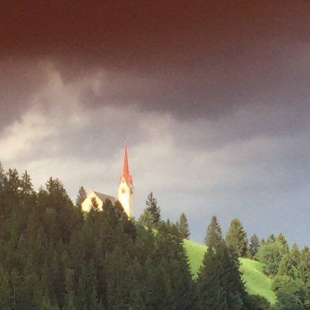 Strassen, ออสเตรีย: Questa e' la foto scattata dalla mia camera n 306, sempre la stessa dal 2011, durante il mio sog