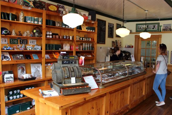 Victoria, Canada: interior of the shop