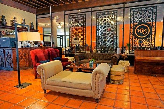 Real de Minas San Miguel de Allende: Acogedor, amplio y bello lobby