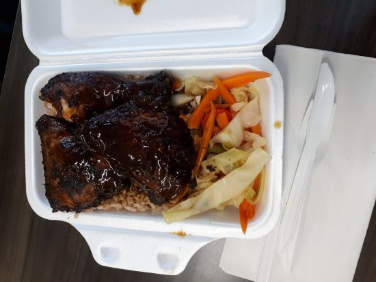 Photo of Caribbean Restaurant Eat Rasta Pasta Jamaican Take-Out at 61 Kensington Ave, Toronto M5T 2K2, Canada