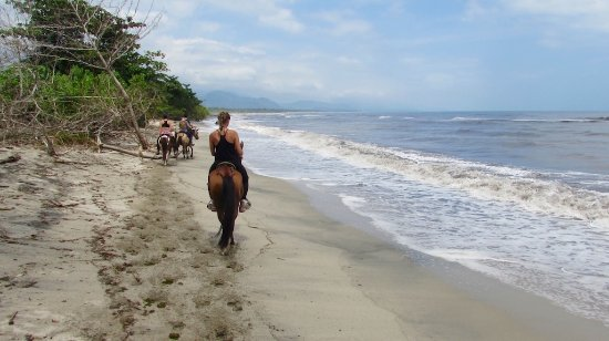 Buritaca, Κολομβία: horse riding tour on the caribbean beach