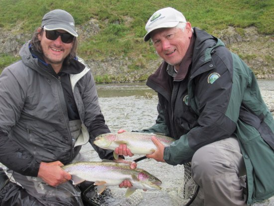 Iliamna, AK: Excellent Rainbow Trout fishing