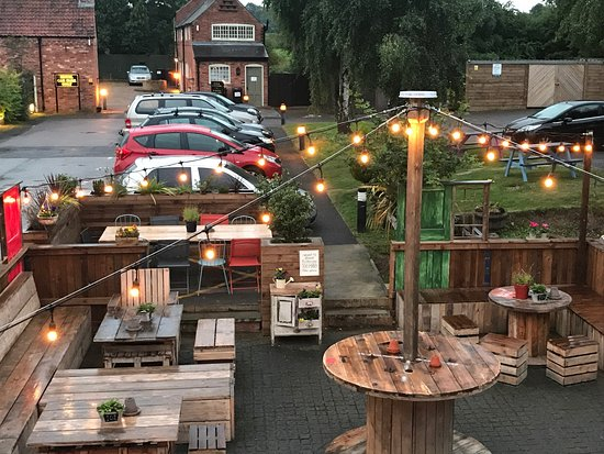 Long Whatton, UK: Beer Garden