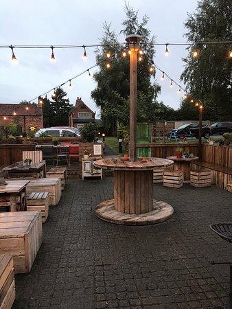 Long Whatton, UK: Beer Garden