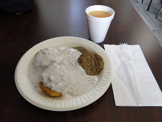 Kearney, MO: Biscuits and sausage gravy!
