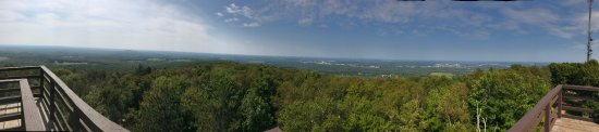 Rib Mountain State Park: Left side of the tower