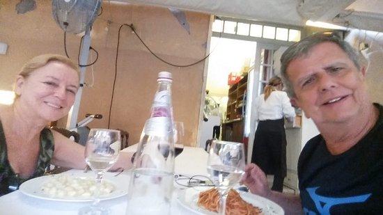 Bar Tre Scalini : Curtindo o almoço