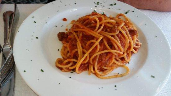 Bar Tre Scalini : Spaguetti à bolonhesa