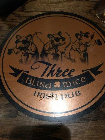 the bar picture of three blind mice irish pub mount clemens rh tripadvisor com