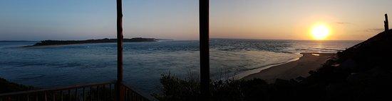 Machangulo, Mozambique: Bungalow Nr. 4 Sonnenaufgang