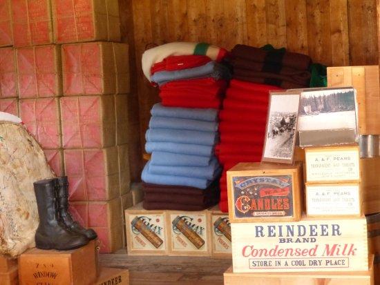 Fort St. James National Historic Site: storage of goods