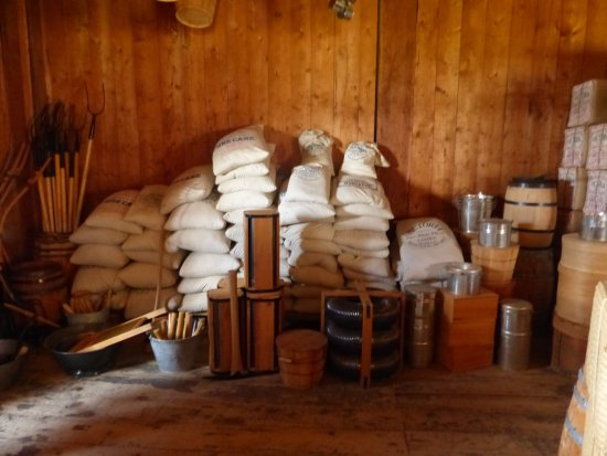 Fort St. James National Historic Site: more trade goods