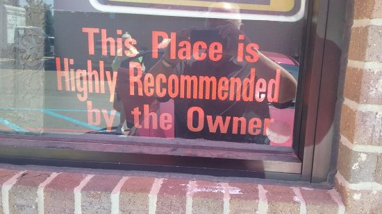 Farmington, MI: A sign in the window at marvins