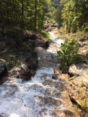 Ridgedale, MO: a number of water falls