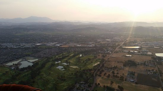 Up & Away Ballooning: Sunrise over Sonoma