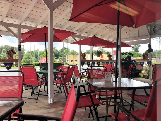 Belleview, FL: Dog friendly outside aeting