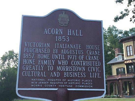 Morristown, NJ: Acorn Hall