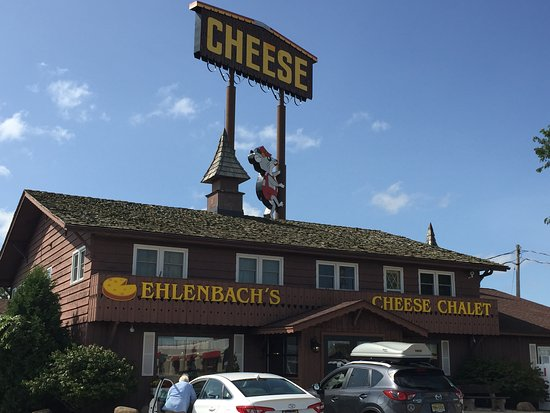 DeForest, WI: The Cheese sign can be seen from the interstate