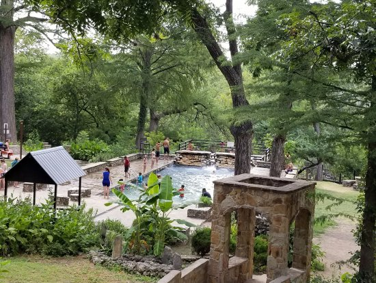 ‪‪Spicewood‬, تكساس: The pool at Krause Springs‬