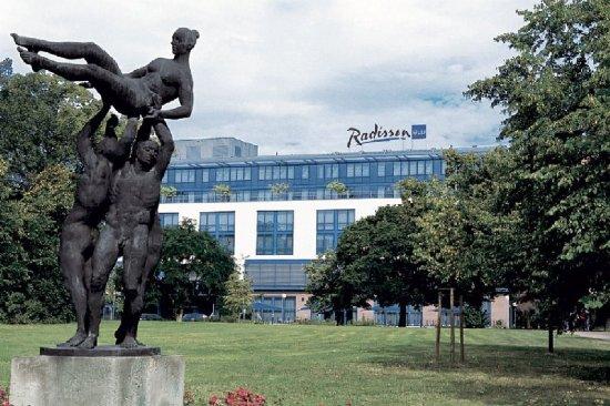 Radisson Blu Fuerst Leopold Hotel: Exterior