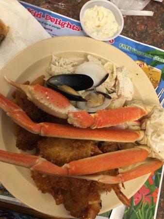 Giant Crab Seafood Restaurant : Crab legs