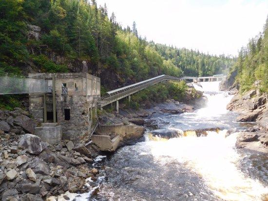 Desbiens, Kanada: ancienne central électrique