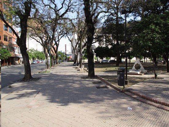 Plaza Hipolito Yrigoyen