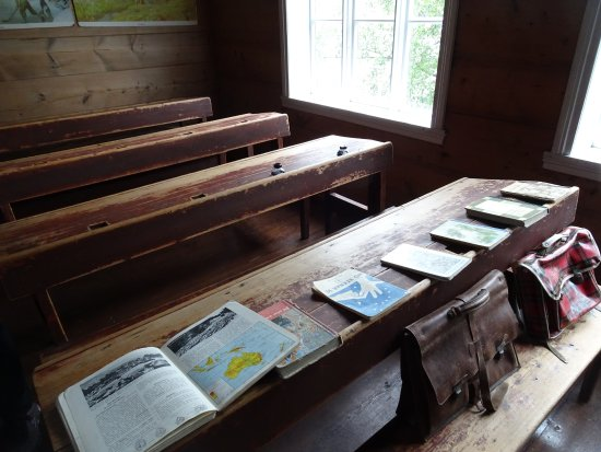 Sunnfjord Museum - Open Air Museum: The old school house