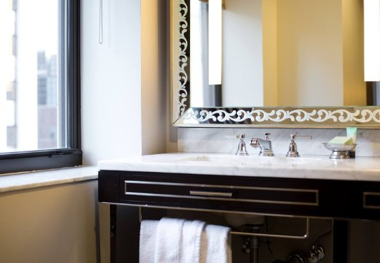 Bathroom Vanity Kansas City guest bathroom vanity - picture of ambassador hotel kansas city