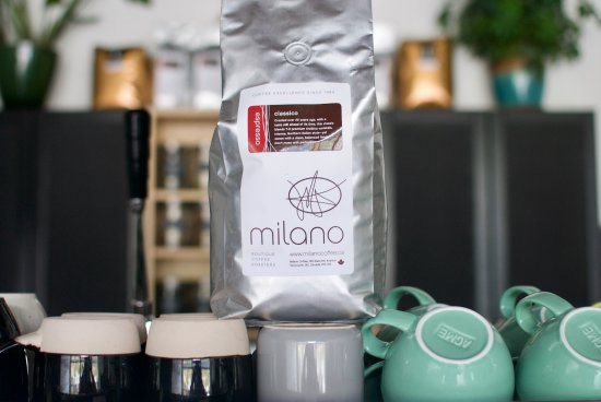 Garibaldi Highlands, Canada: proudly serving Milano Coffee Roaster beans in all of our espresso based drinks!