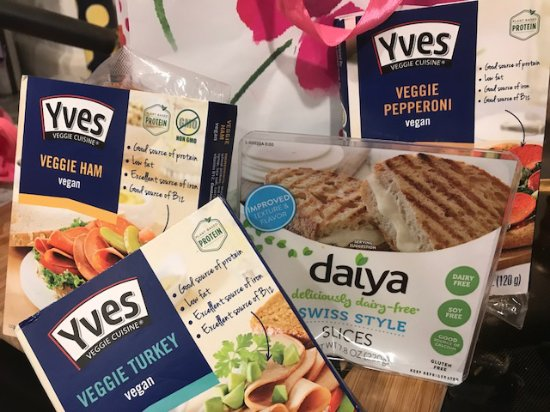 Down To Earth: Good vegan selection