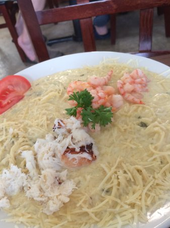 Ocean Shores, WA: Crab and Shrimp Linguini