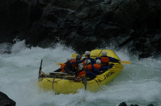 Interior Whitewater Expeditions - Day Tours: drifting sideways