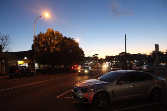 Huskisson, ออสเตรเลีย: Street outside