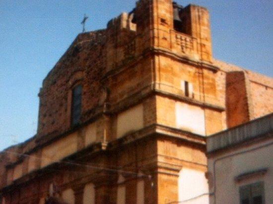 Castelvetrano, Italija: Facciata principale con .... Campanile !
