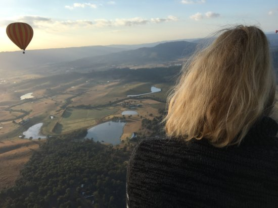 Hot Air Balloon Brisbane & Canungra Vineyards Photo