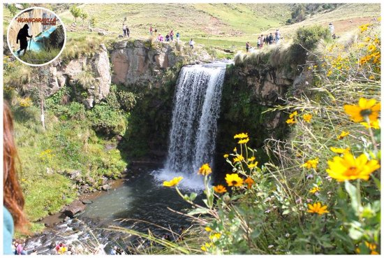 Ayacucho, بيرو: Hermosa catarata de pumapaqcha