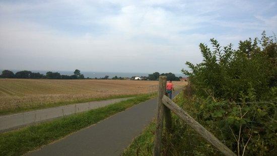 Ostseebad Rerik, Germany: Radstrecke nach Kühlungsborn