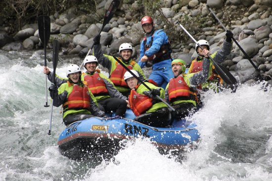 Turangi, Nueva Zelanda: Everyone enjoying the ride!