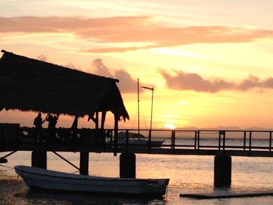 Leleuvia Island, Fiji: Sunset