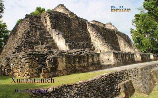 Maya-Ruinen von Altun Ha Foto